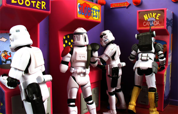 Adventures in Stormtrooping