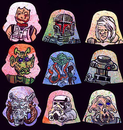 TOPPS Star Wars Sketches
