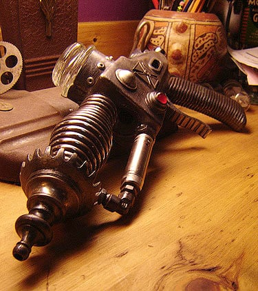 Ray Gun Junk Sculptures