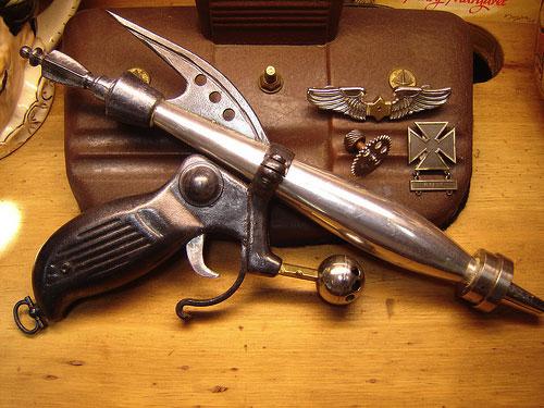 Ray Gun Junk Sculptures