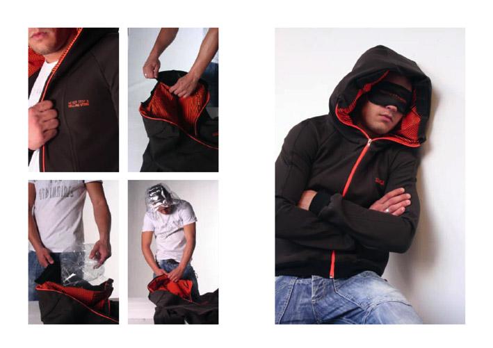 Inflatable Hood Jacket