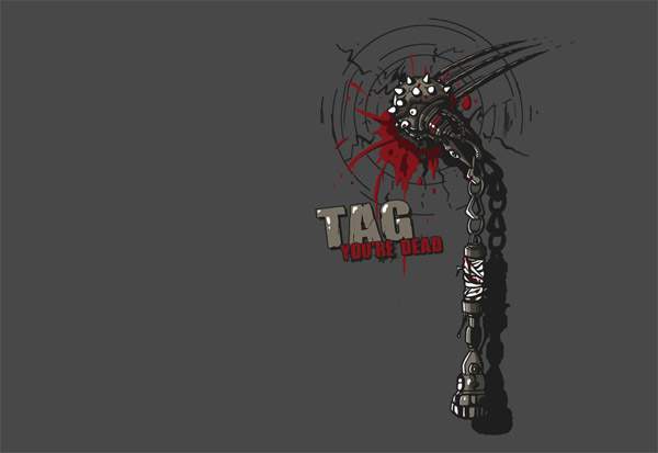 Tag You're Dead Tee