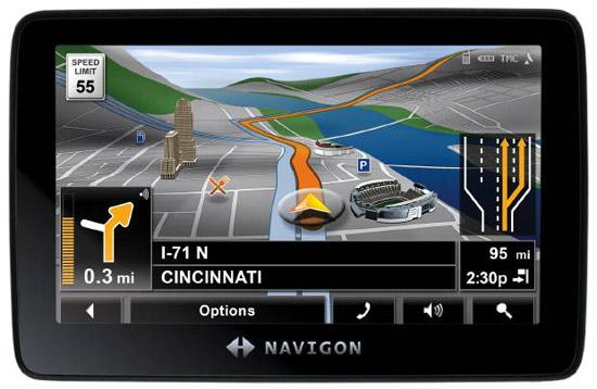 Navigon 7300T GPS
