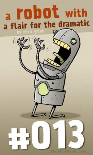 Art: Three Robots A Week