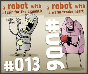 Art: Three Robots A Week