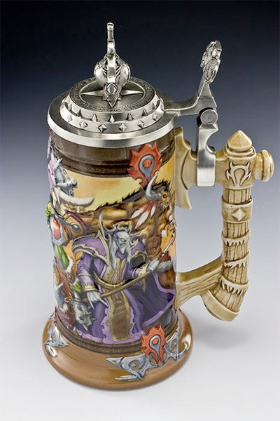 WoW Beer Steins