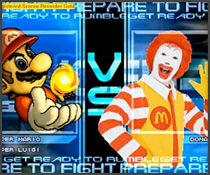 McDonald's vs. Mario Bros.