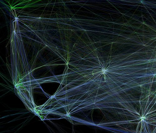 24 Hours of Air Traffic