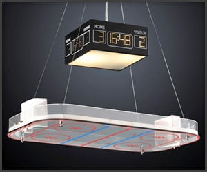Hockey Arena Chandelier