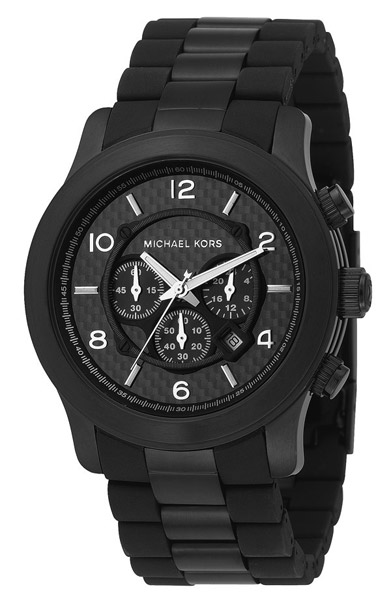 Black Oversize Iconic Watch