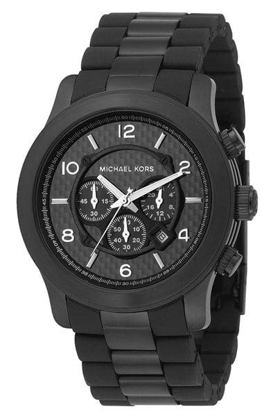Black Oversize Iconic Watch