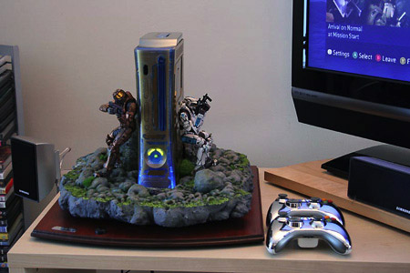 Halo-themed Xbox 360