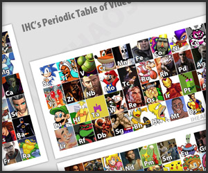 Video Game Periodic Table