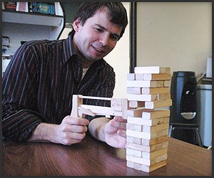 Video: Jenga Pistol