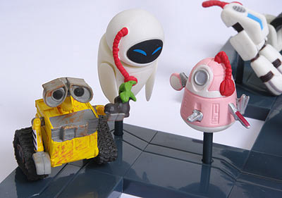 WALL-E Mini Figures