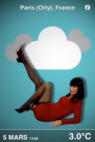 iPhone: Pin Up Weather