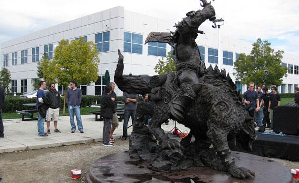 Blizzard's WoW Statue