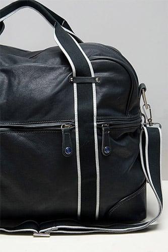 McQ Black Leather Duffel