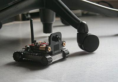 SRV-1 Blackfin Robot