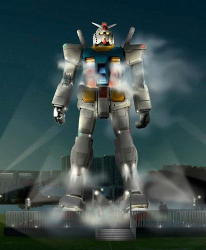 Life-Sized Gundam