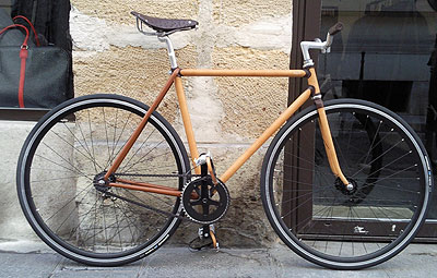 Jacques Ferrand Leather Bike