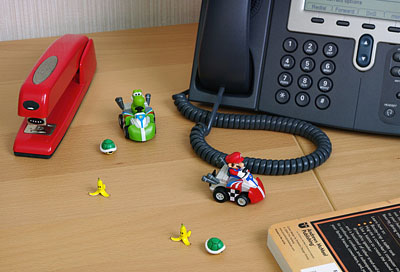 Qsteer Mario Kart R/C