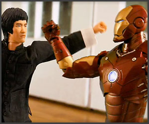 Iron Man vs. Bruce Lee