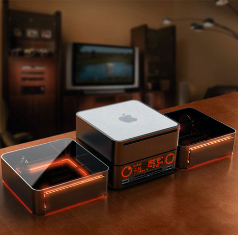 Mac Mini Stackable Radio
