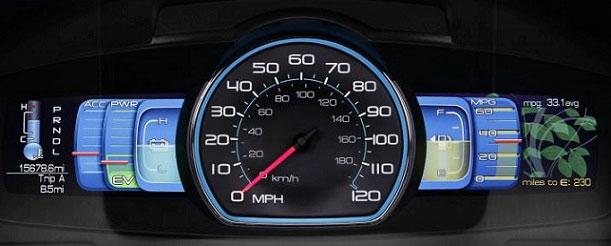 Ford Fusion Hybrid Dash