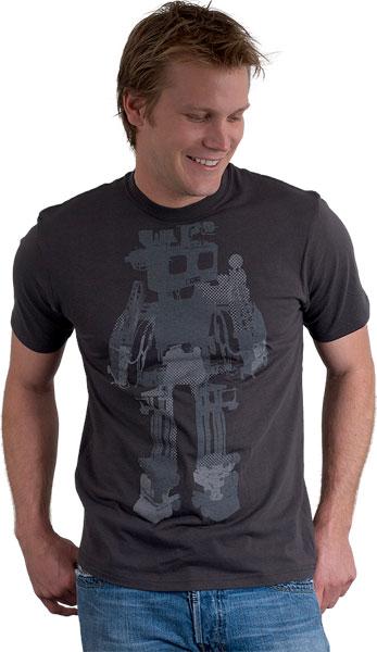 Halftone Robot T-shirt