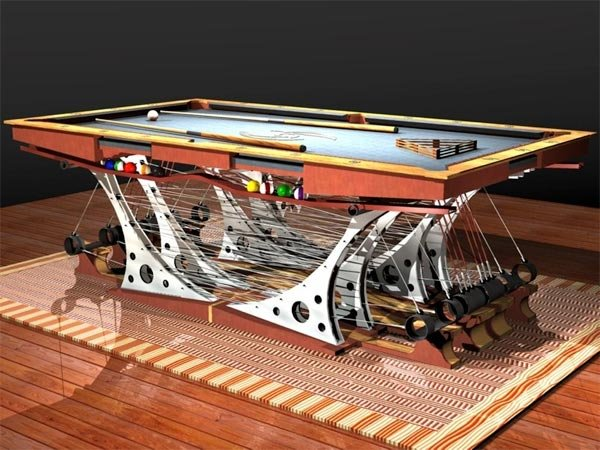 Captivating Force 12 Pool Table ...
