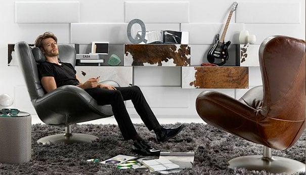 Natuzzi Sound Armchair The Awesomer