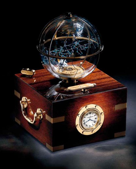 Planet Earth Desk Clock