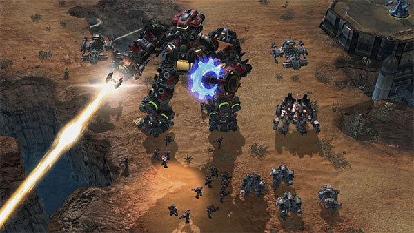 Starcraft II :Terra-Tron