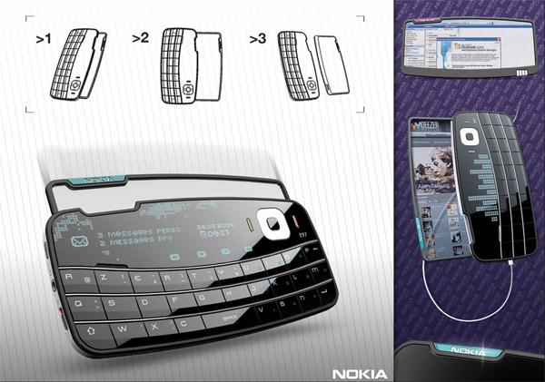 Concept: Envelop Cellphone