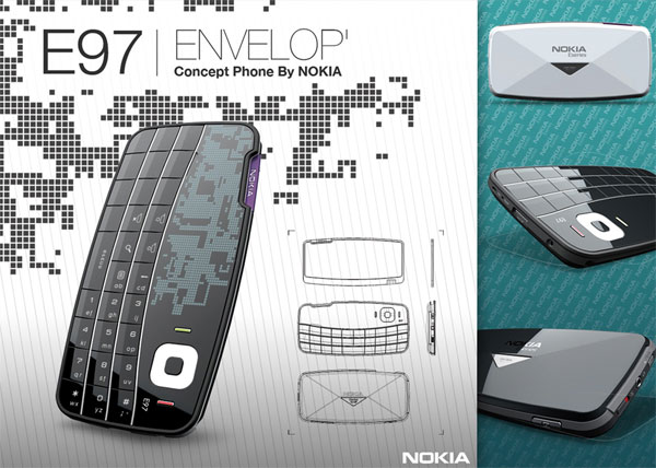 Concept: Envelop Cellphone
