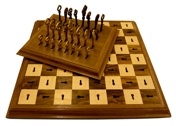 Skeleton Key Chess Board