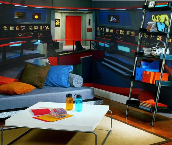 Star Trek Full Wall Mural