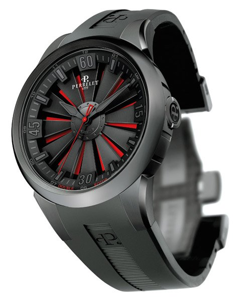 Double Rotor Turbine Watch