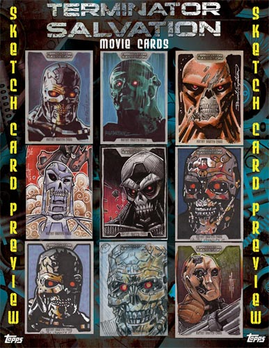 Topps Terminator Cards