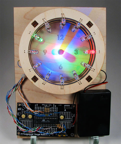 DIY: Bulbdial Clock