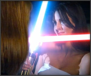 Sexy Lightsaber Fight