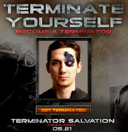 Website: Terminate Yourself