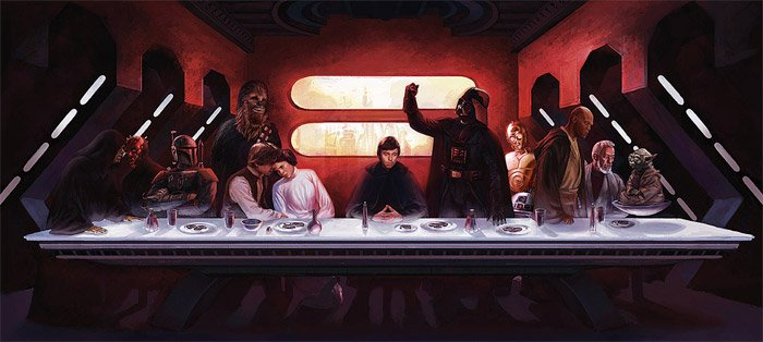 50 Last Supper Parodies