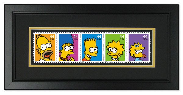 USPS Simpsons Stamps