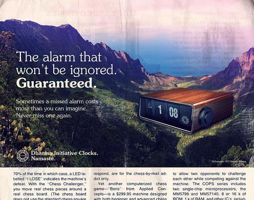 Vintage DHARMA Ads