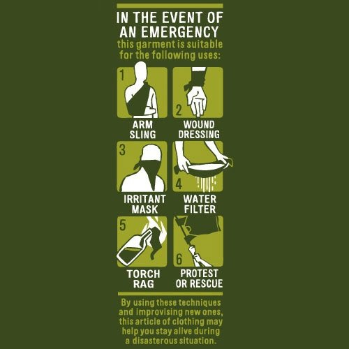 Event of Emergency Tee