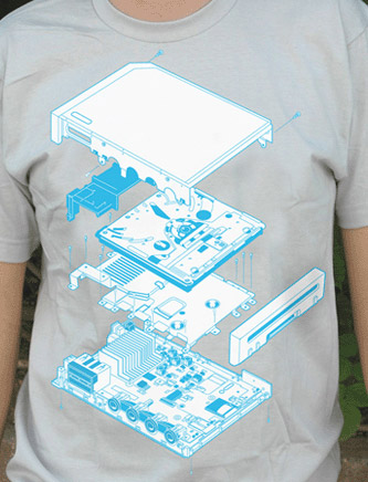 WiiXploded T-shirt