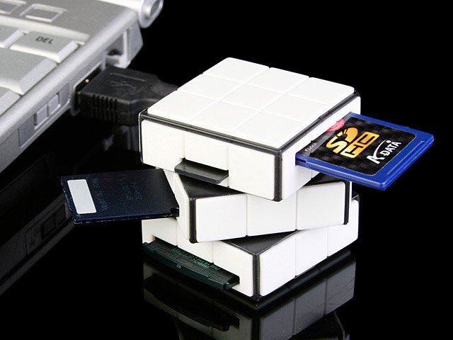 USB Cubic Card Reader