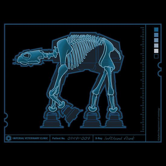 AT-AT Anatomy Tee